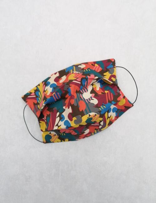 mascherine colorate covid lavabili in cotone