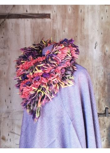 fluffy faux fur upcycled wool ecofashion
