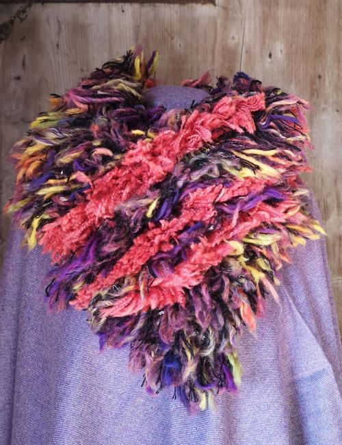 fluffy woolen collar woll mill paoletti