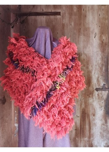 stola sciarpa lana eco-fashion ecopelliccia