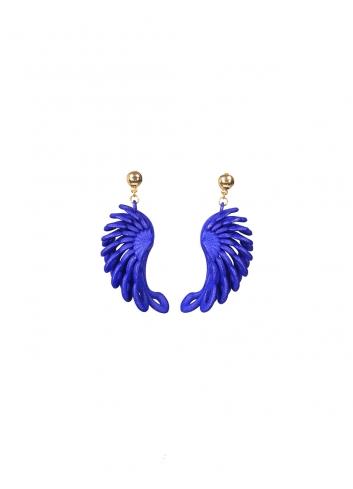 Orecchini Parrot ER-27 BLUE Paolin bijoux