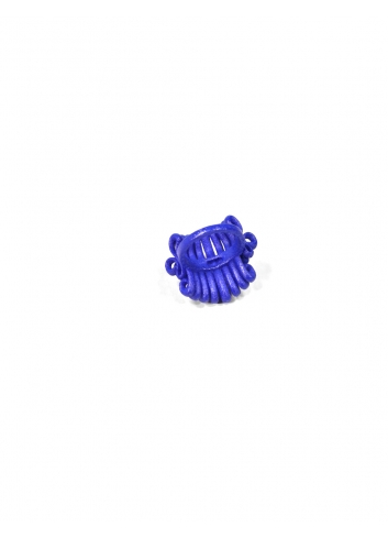 Ring teneriffe  blue Francesca bijoux