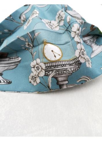 Mascherina  Vintage colorata cotone lavabile covid