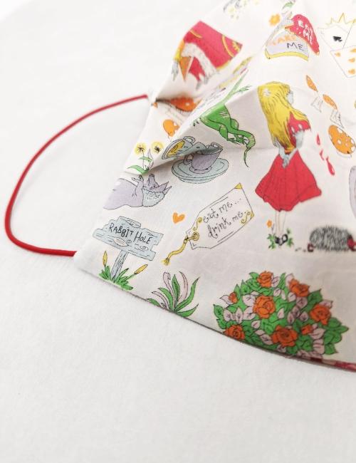 Alice star Mask, reusable, double-sided colourful christmas navidad