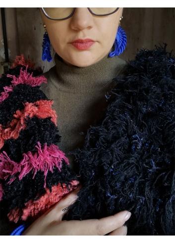 woolen up-cycled scarf slowfashion ethical fashion stole