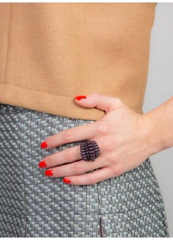 Teneriffe ring, black