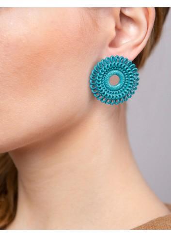 Orecchini Circle Venice ER-01 ANIMA fashion bijoux stampati 3D