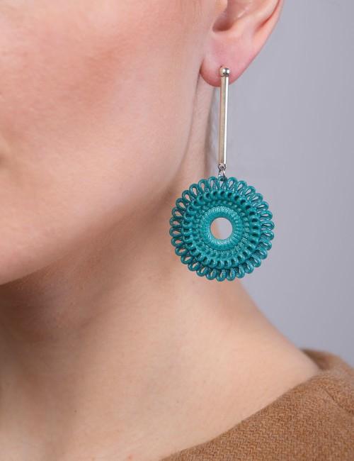 Orecchini pendente Circle Venice ER-02 ANIMA bijoux moda