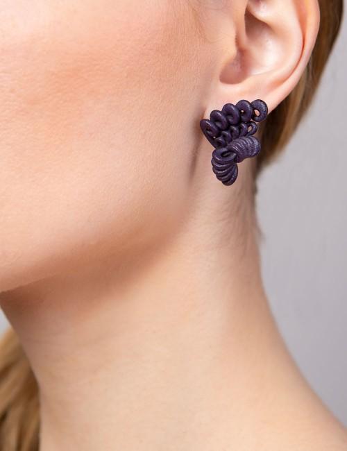 Merletto earrings ER-12 LAVA Paolin fashion custom jewellery