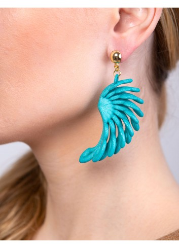 Parrot earrings ER-27 ANIMA Paolin custom jewellery