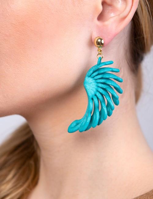 Parrot earrings ER-27 ANIMA Paolin custom jewellery