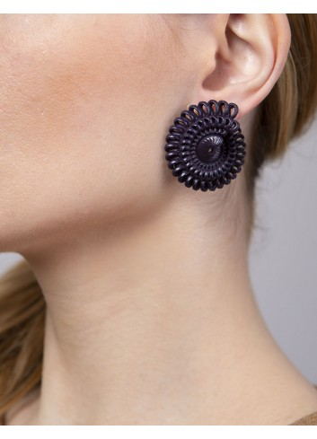 Paolin earrings ER-02A LAVA fashion jewellery bijoux 3D printed