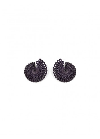 Paolin earrings ER-02A LAVA fashion jewellery bijoux 3D printed
