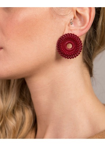 Circle Venice earrings,...