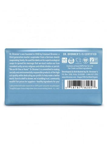 Dr Bronner organic oils soap baby mild fair trade