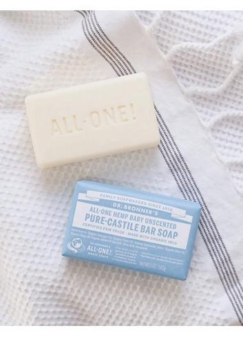 organic bar soap Dr Bronner baby mild