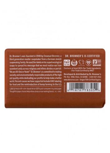 Dr Bronner organic oils soap eucalyptus fair trade