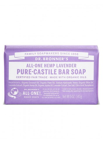 Dr Bronner organic oils soap fair trade lavender