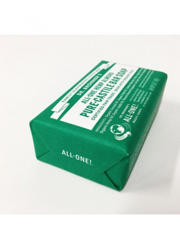 organic bar soap Dr Bronner almond