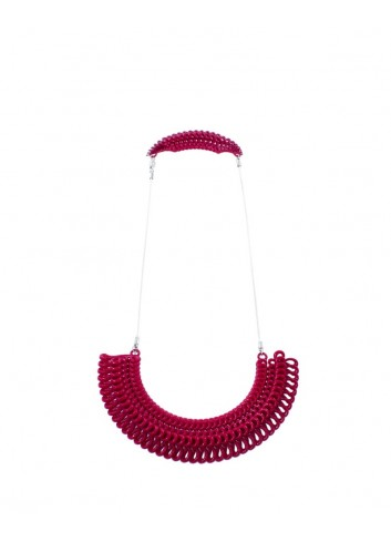 Teneriffe necklace NK-23 DELICIOUS RED Paolin fashion bijoux
