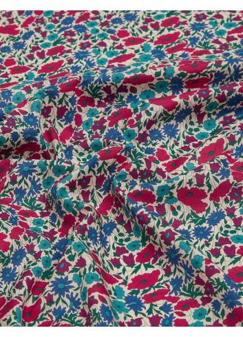 tessuto per mascherine covid19 Liberty London Poppy and Daisy