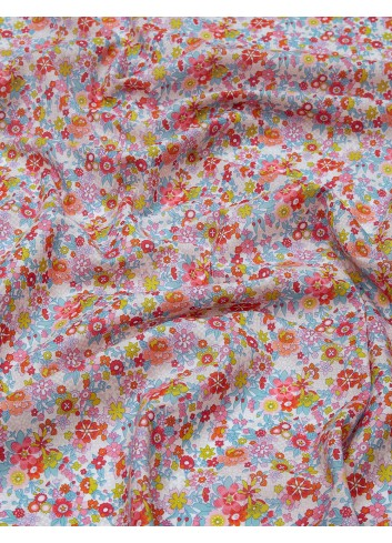 Floral Waltz Liberty tessuto cotone mascherine fantasia online paolin