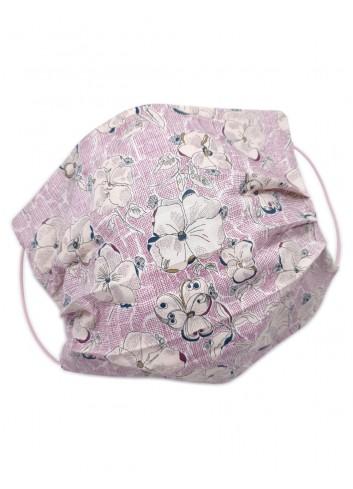 mascherina covid lavabile floreale fashion