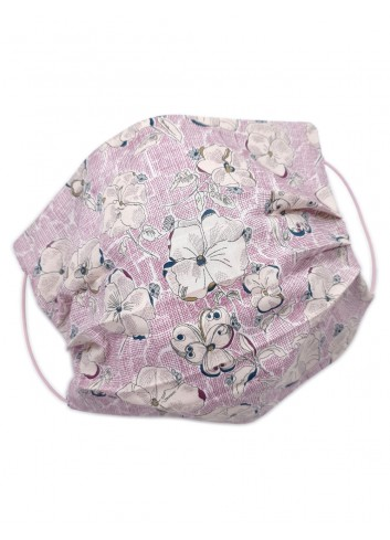 covid mask fashion floral pattern