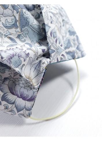 mascherina lavabile e riutilizzabile in puro cotone