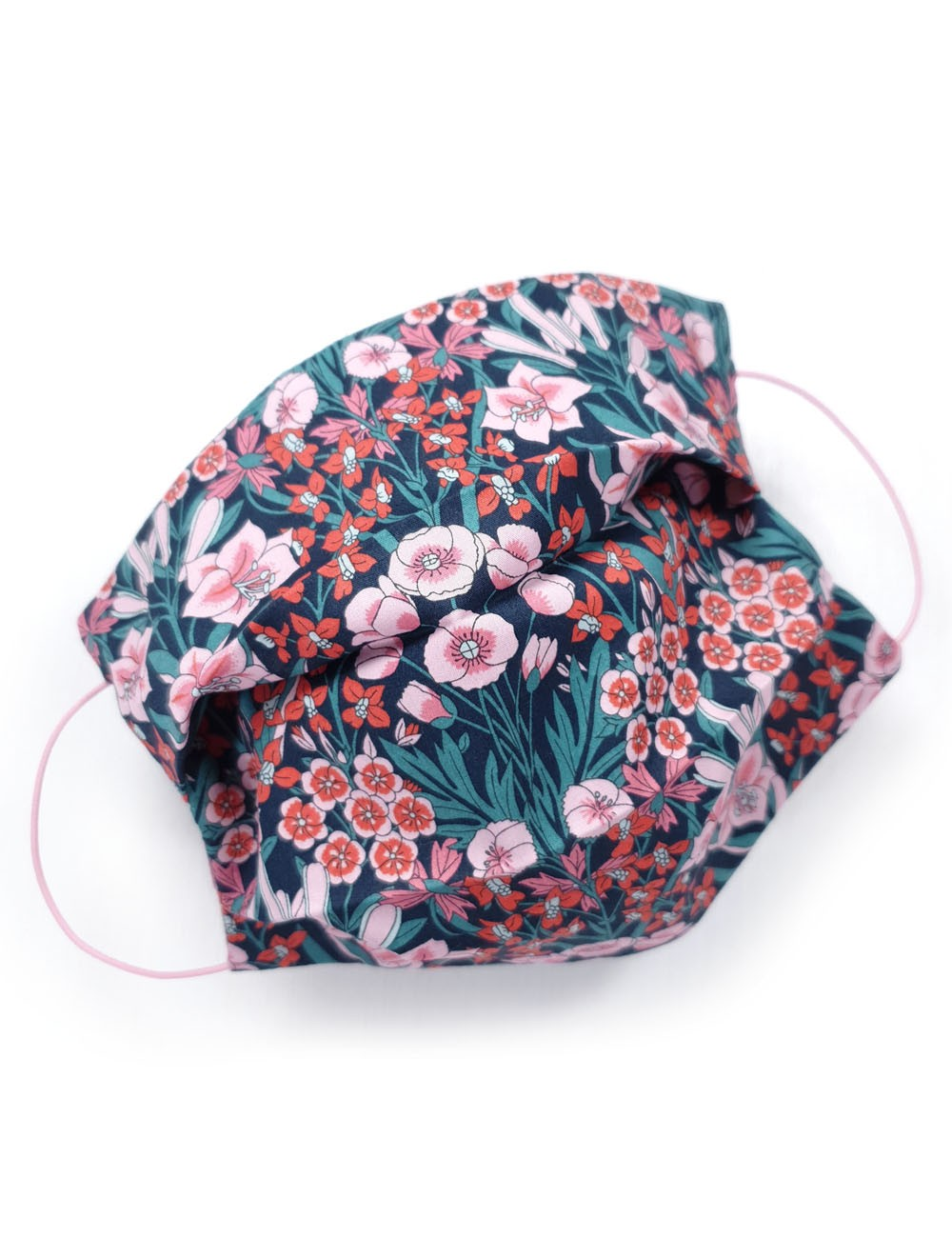 covid mask reusable colourful and floral