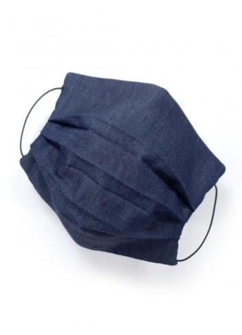 mascherine in tessuto blue jeans replay