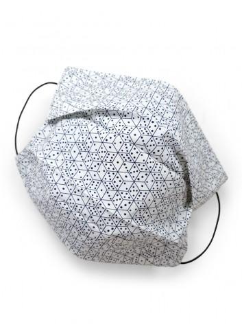 mascherina lavabile in cotone tana lawn