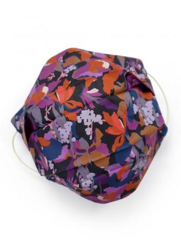 mascherina lavabile in tessuto colorato fashion