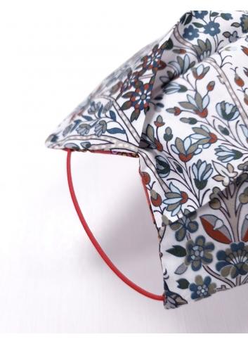 liberty london tana lawn silk like cotton touch mask