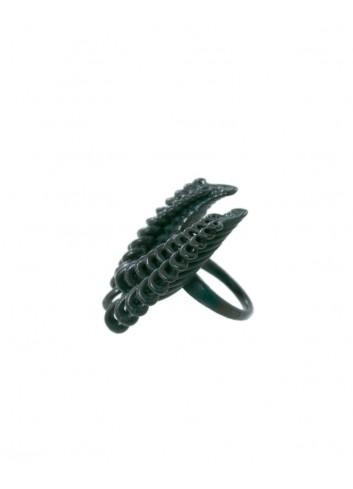 Novelty ring, safe green...