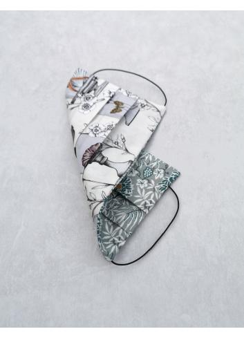 winter garden liberty london fabric face mask reusable