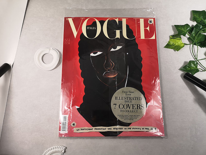 Cover of Vogue Italy January 2020