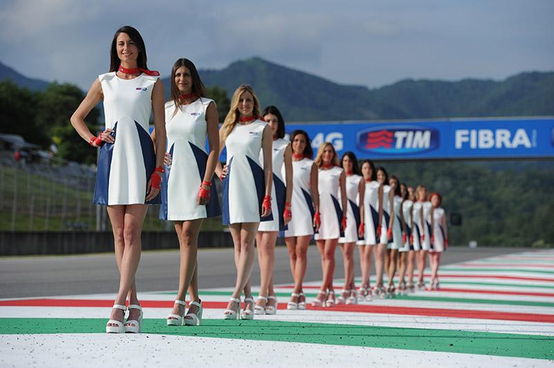 Paolin mittelmoda motogp Italy grid-girls outfit Guido De Bortoli