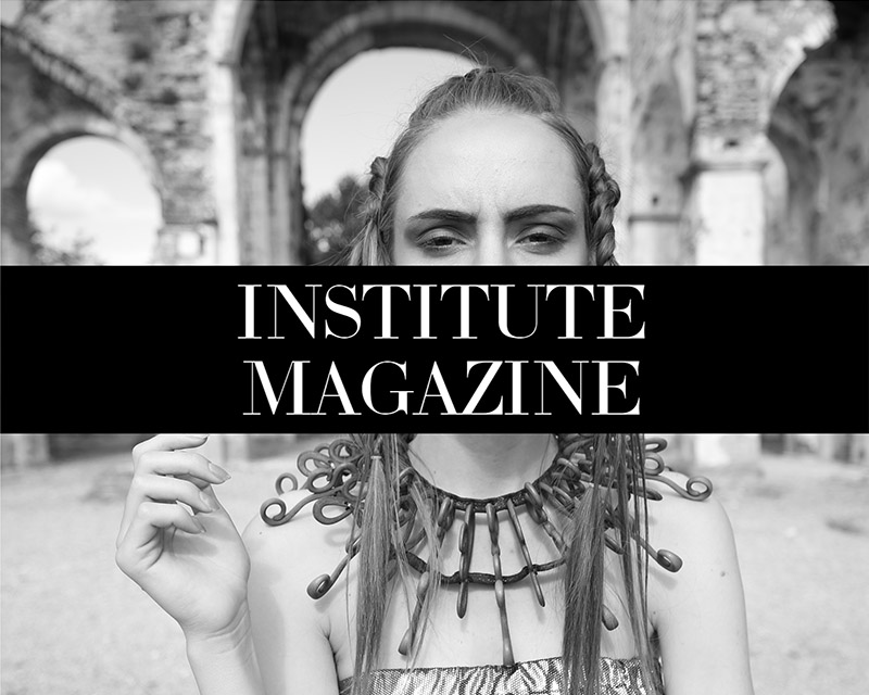 Institute Magazine about Paolin 3D printed fashion jewellery fashion bijoux