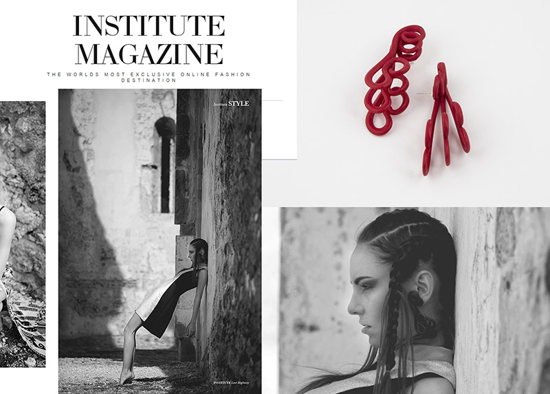 Institute Magazine online fashion mag Paolin jewellery bijoux accessories