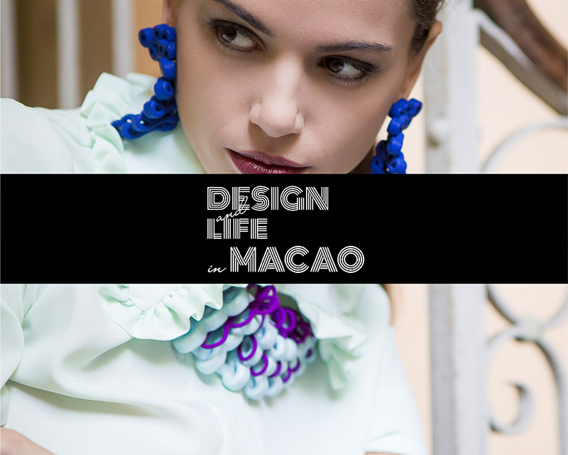 Paolin 3D printed fashion jewellery at Macao sarpi bridge oriental design week Milan