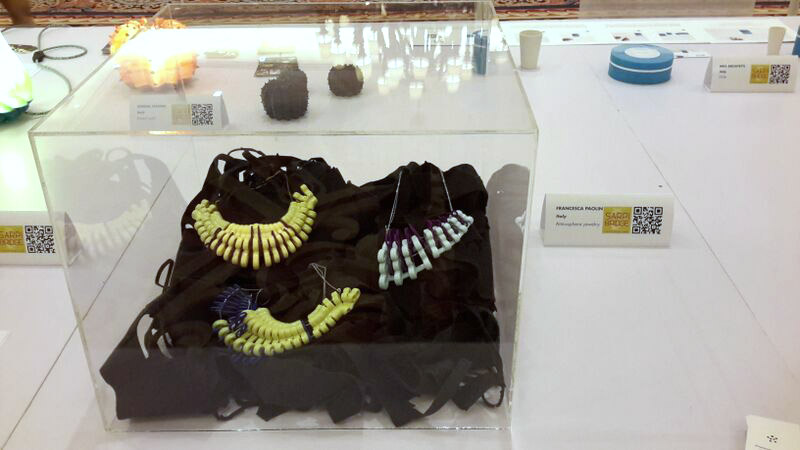 Paolin fashion jewellery at Macao sarpi bridge oriental design week Milan showcase