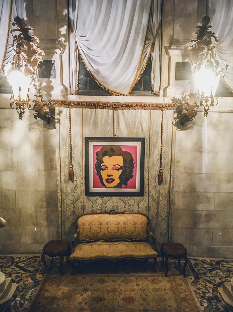 Ca Sagredo hotel Andy Warhol Venice fashion night week Paolin jewels bijoux designer