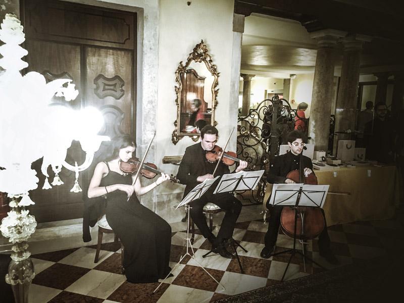 Ca Sagredo hotel Venice fashion night week Paolin jewels bijoux Associazione Phileo classical live music
