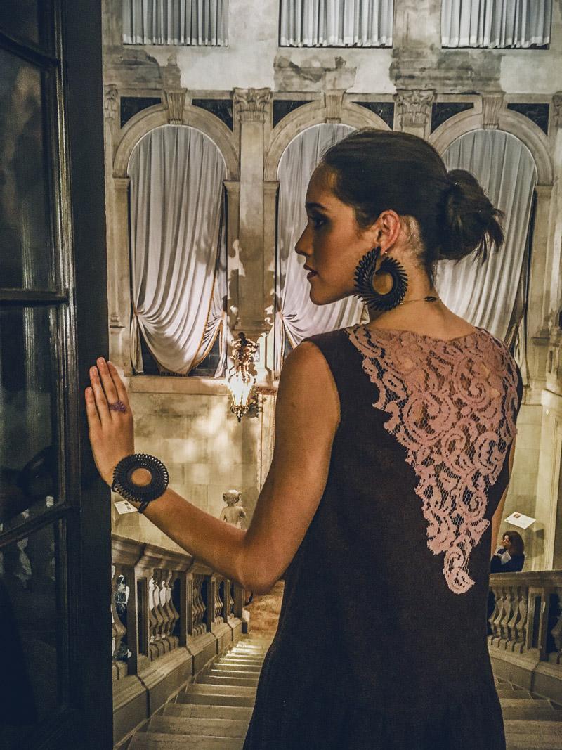 Venice fashion week night Paolin jewels 3D printing bijoux CaSagredo hotel