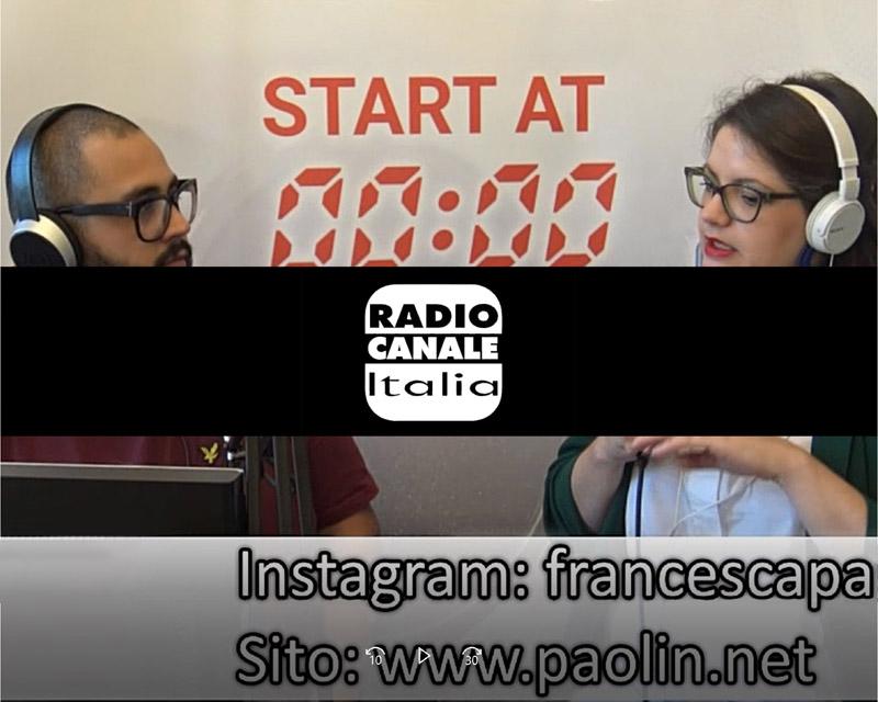 paolin jewellery radio interview radio canale italia