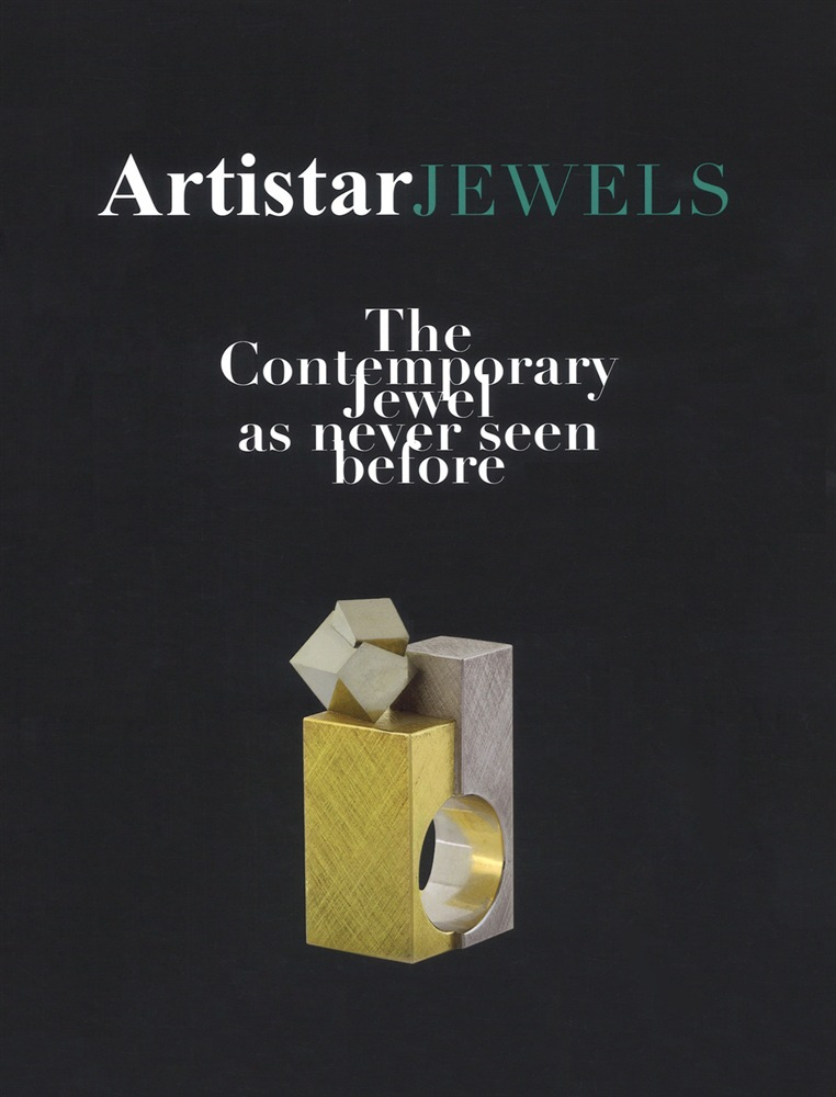 Paolin 3D printed jewellery in Artistar Jewels book 2019 cover book picture