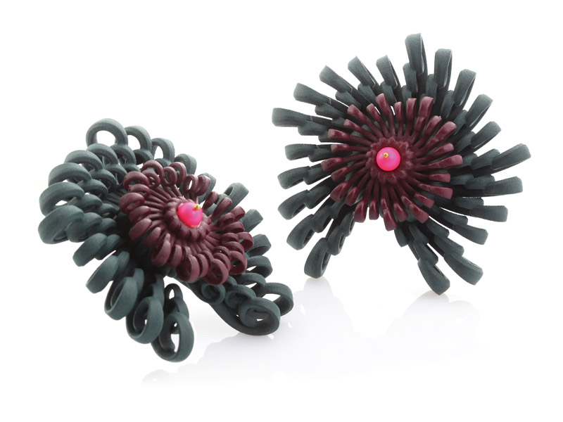 Paolin shoes accessories 3d printed jewellery bijoux at Artistar Jewels Milan